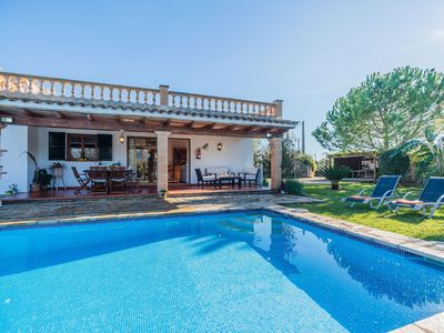 Photo for Finca with pool and ping pong table for 5 people in Pollensa