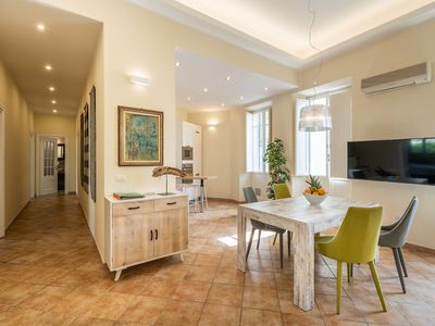 Photo for Luxurious Holiday Apartment in the Heart of the City of Cagliari with Wi-Fi & Air Conditioning