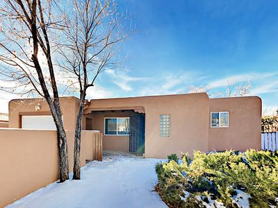 Exterior - Your updated Santa Fe home is within walking distance of downtown Santa Fe and the Railyards arts district.