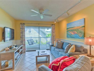 Photo for Oceanfront Pet Friendly Condominium! Amenities Include Balcony, Pool, Beach Boarkwalk