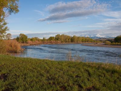 Photo for Yellowstone Rvr w/abt 60 acres & pond.4br2ba house.Book NOW for best 2019 dates!