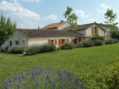 Photo for The Barn - White stone barn with pool between Cordes-sur-Ciel and Albi