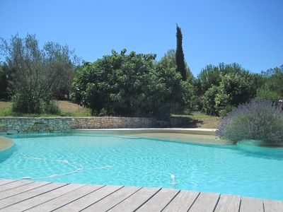 Photo for VILLA WITH POOL AIX-EN-PROVENCE - Large wooded property in a quiet