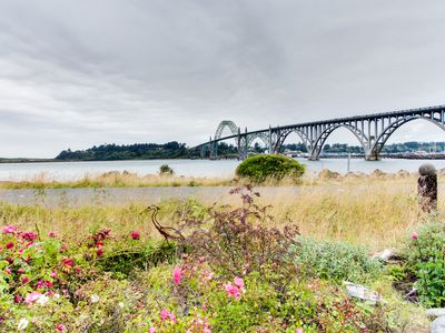 Photo for Beautiful bayfront townhouse w/ amazing bridge views, next to the state park!