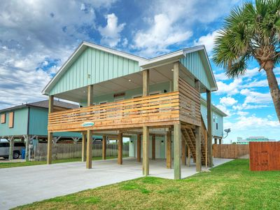 Photo for STAY SALTY Port A! 3BR/3BA * Private Pool * Beach Boardwalk * 1 Block to Beach