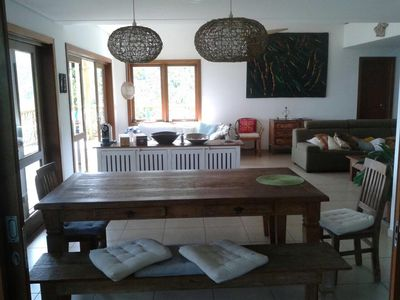 Photo for A MUST SEE, HIGH STANDARD HOUSE IN YACAMIN CONDOMINIUM IN ILHABELA AT YOUR REACH