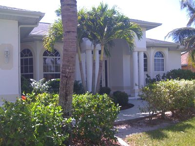 Photo for Water front vacation resort style home , Heated pool, Hot Tub,gas grill