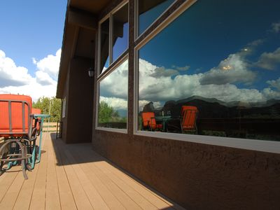 Photo for Panoramic Views Inside and Out!