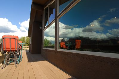 Awesome View From Front Deck and Great room!