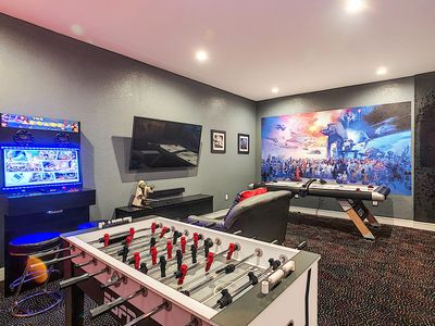 Photo for Totally Renovated-All NEW-Incredible Game Room-South Facing Pool