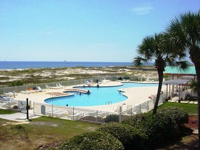 One of 2 outdoor pools just steps from your condo.  One outdoor pool is heated.