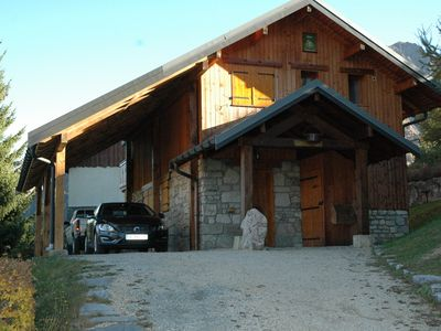Photo for CHALET Gîte de France 3 ears of corn 10/12 people on the slopes SPA / SAUNA