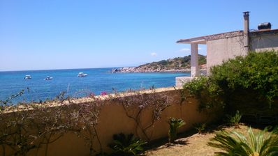 Photo for HOUSE DIRECTLY TO THE SEA WITH GARDEN ON TWO LEVELS,