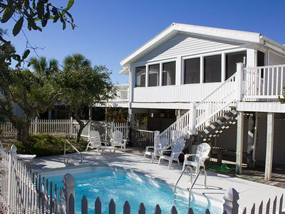Photo for It's ALMOST TIME..for your beach vacation! This lovely beach home offers an open living