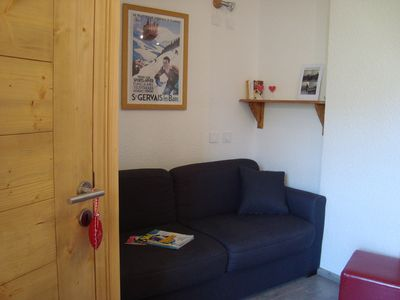 Photo for Ski apartment on the feet. 2 rooms 4 people. Label 3 silver flakes