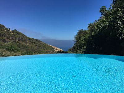 Photo for Villa with unique charm, heated pool, beach 200 m. Cap benat.