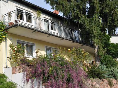 Photo for Cozy apartment with a private terrace near the forest near Heidelberg