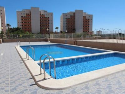 Photo for Renovated apartment with large south facing terrace in Guardamar del Segura