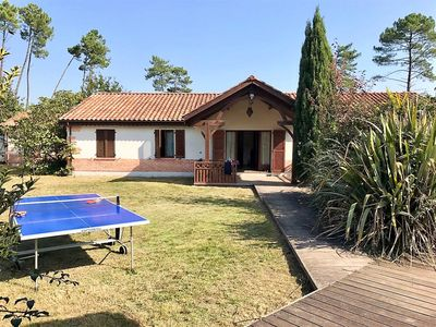 Photo for Large Villa for 14 with pool, internet ... near Lake St Eulalie