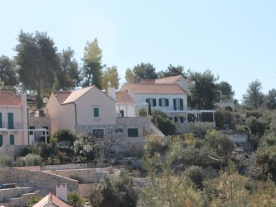 Photo for Beautiful villa on the island of Brac directly by the sea