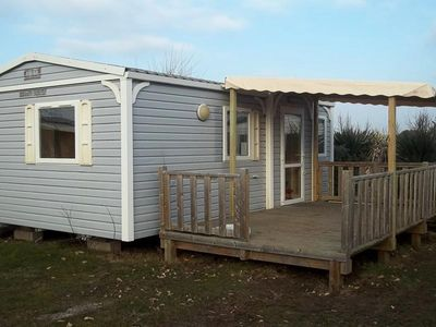 Photo for Camping La Pointe du Talud *** - Mobile home Venus 3 Rooms 4 Persons