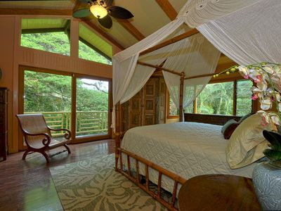 Master Bedroom, spacious with gorgeous views.