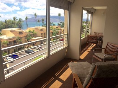 Gorgeous view from private, double-sized lanai