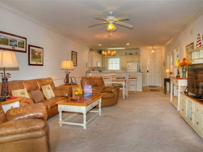 Photo for Cozy condo w/ golf course views! Washer/Dryer & Free WiFi!