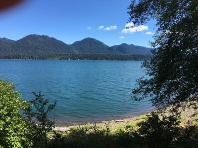 Photo for Lake front Quinault Cottage