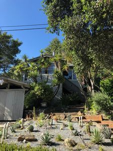Photo for Sunny 1920's hunting lodge w/ mid century style - breathtaking views  of the bay
