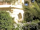 Villa surrounded by outstanding, sunny Mediterranean garden, terraces, views.
