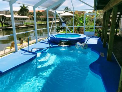 Photo for Relaxing, Family, Pool, Dog Friendly, 400 feet from the Beach, Premium Property.