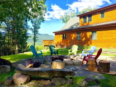 Photo for Woodstock mountainside retreat, nicest view in the Catskills!! RELAX!!!!