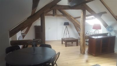 Photo for Apartment 2 P at the foot of the banks of the Seine and the historic center