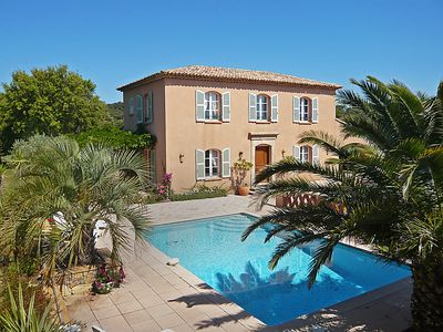 Photo for 4 bedroom Villa, sleeps 8 in Sainte-Maxime with Pool and WiFi