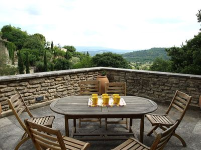Photo for Nice apartment for 8 people with WIFI, private pool, TV, pets allowed and parking