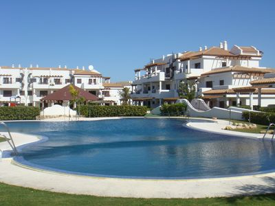 Photo for With garden in La Barrosa