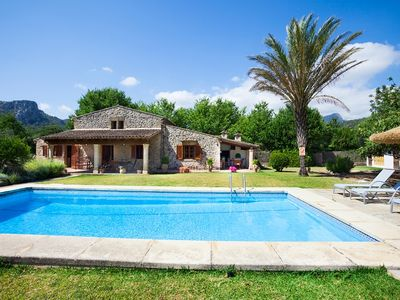 Photo for Catalunya Casas: Villa Gloriosa in the Mallorca mountains, only 8km to the beach!