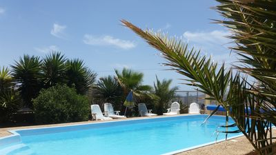 Photo for Eco-bungalow for up to 6 people, large bathroom, terrace in the southeast of Tenerife