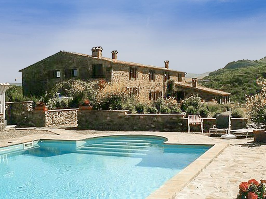 Old Tuscan contryside house with swimming pool-Val D\'Orcia - Radicofani