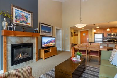 Spacious condo with an open layout