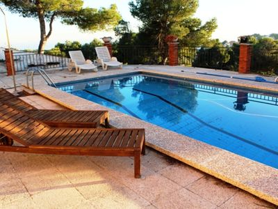 Photo for Coastal villa in Castellet, 6km from Costa Dorada beaches