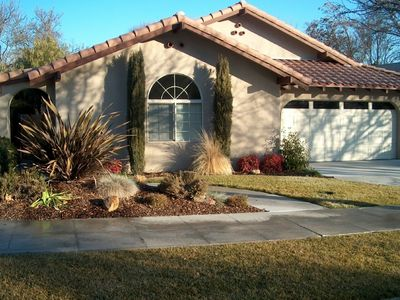 Front View. -  3 bds., 2 ba., minutes to downtown Paso Robles.