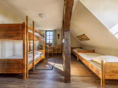 Photo for 4 bed rooms with 1 double bed and a bunk bed - Rügen SurfHostel WE12622