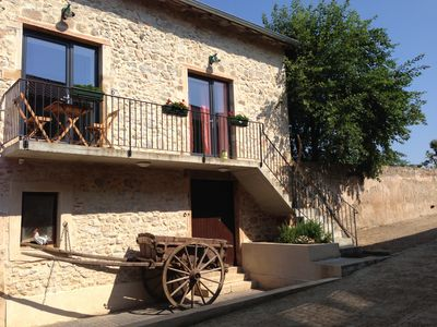 Photo for Charming apartment 2 km from Cluny