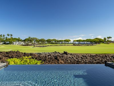 Photo for Spectacular Views ! New Luxury Living ! Infinity Pool and Spa includes Golf Cart