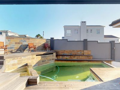 Photo for Spacious home with private pool, a burning fireplace & jetted tub