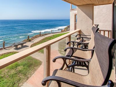 Photo for The OCEANFRONT Ocean Oasis - 2bd/2.5b