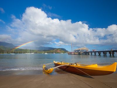 Heavenly Hanalei Bay and Pier