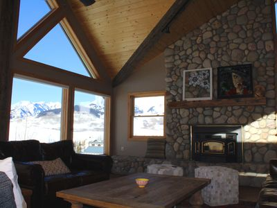 Photo for Specious mountain home with stunning views, close to ski area!